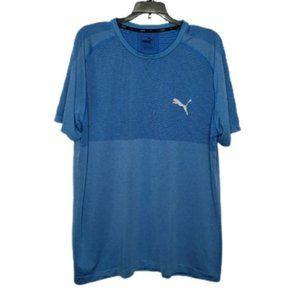 PUMA blue evoknit tee shirt XL
